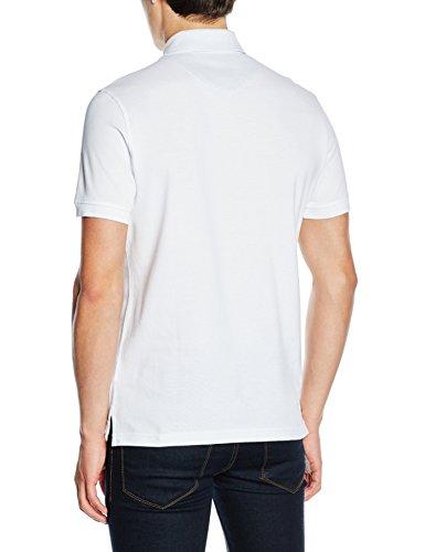 Toro Herren Poloshirt Polo M/C Liso Basico Sin Bandera Weiß