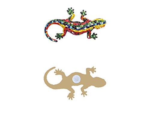 La salamandra auténtica en trencadís que inspiró a Gaudí y que ahora puedes tener en imán para adornar tu casa o regalar a tus amigos.