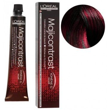 Loreal Majicontrast magenta-rot 3 x 50 ml Haarfarbe LP Coloration