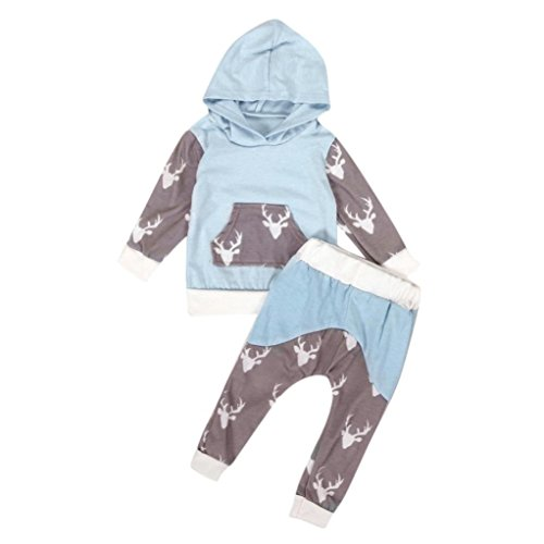ff07a8ed879 Minetom New Cotton Baby Girls Long Sleeve Drawstring Floral Print Tracksuit  Top + Pants Outfits Set