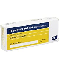 Preisvergleich für ibuprofen-ct akut 400 mg filmtabletten 20 St