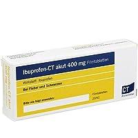 ibuprofen-ct akut 400 mg filmtabletten 20 St preisvergleich bei billige-tabletten.eu