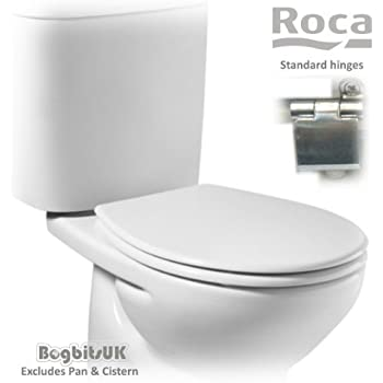 Surprising Roca Laura Replacement Wc Toilet Seat With Standard Hinges A8013U0004 White Frankydiablos Diy Chair Ideas Frankydiabloscom
