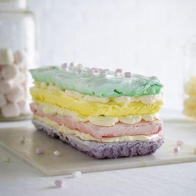 Wilton Easy Multi Layer Rectangular Brick Cake Pan Loaf Tin - Makes 4 Layers