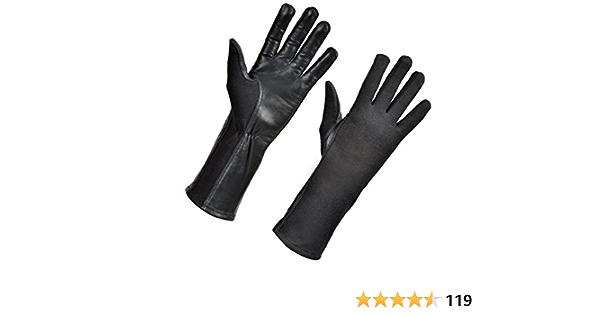 Nomex Fliegerhandschuhe Militär Flughandschuhe Nomex Handschuhe Olive Drab Best Leder Fliegerhandschuhe Und Pilothandschuhe Nomex Schwarz 6 Long Bekleidung