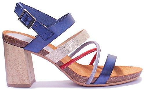Justin Reece Violeta, Sandales Pour Femme Bleu Marine