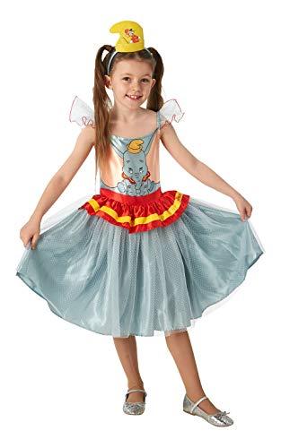Disney Dumbo Kostüm - Rubie's 300265 2-3 Disney Kostüm, Mädchen, mehrfarbig