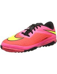 buy popular 64c1d 77277 Nike JR Hypervenom Phelon TF Kinder Fussballschuhe bright  crimson-volt-hyper punch-black
