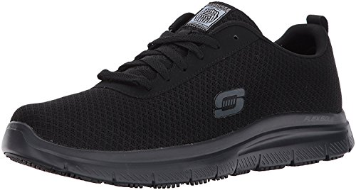 Skechers for Work Men's Flex Advantage Bendon Work Shoe, Black