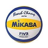Mikasa Beach Champ VXT 30 Weiß / Blau / Gelb