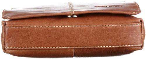 Gerry Weber Flap Bag S 08/00/01498-900, Borsa donna, 18x20x4 cm (L x A x P) Marrone/Cognac