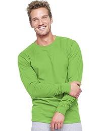 Hanes Long Sleeve Beefy T-Shirt - 5186