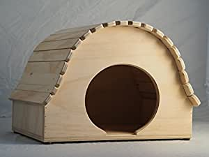 Maisonnette jeu niche professionnelle indoor pour chats Igloo taille XXL, Blitzen Made in Italy 100%