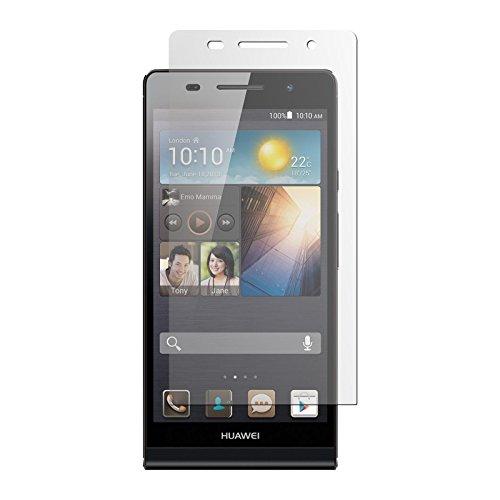 8 x Displayschutzfolie klar für Huawei Ascend P6 von PhoneNatic