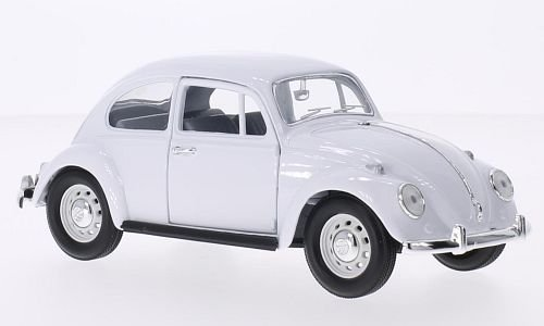 VW Käfer, weiss, 1967, Modellauto, Fertigmodell, Lucky Die Cast 1:24 (Käfer Spielzeug Vw)