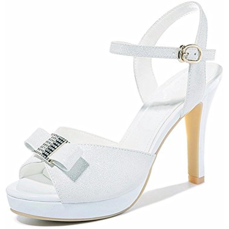 No. 55 Shoes Scarpe Donna Parent per Sandali Estivi,L'Brgento,US6/EU36/UK4/CN36  Parent Donna b72741