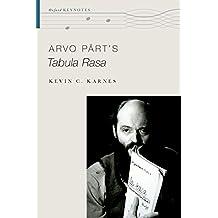 Arvo Pärt's Tabula Rasa (The Oxford Keynotes Series)