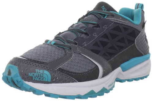 The North Face Single-Track GTX XCR II - Zapatos para correr de material sintético mujer, color gris, talla 40.5