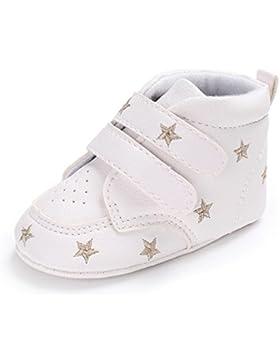Baby Schuhe,Simonabo Mädchen Jungen Star Stickerei Hight Cut Schuhe Sneaker Soft Soles Anti-Rutsch-Schuhe