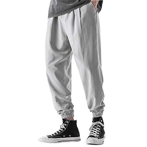 Jogginghose Herren Jogginganzug Jogger Männer Trainingsanzug Baumwolle Jungen Slim Fit Jog Pants Größen