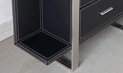 Schedario Ufficio Nero : Mobili per ufficio design schedario brindisi in pelle sintetica nera