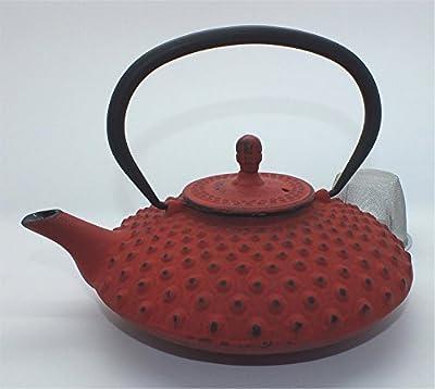 teeblume - Théière en fonte Kambin 0,8 l rouge japonais
