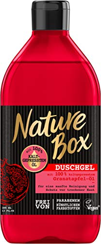 Nature Box Duschgel Granatapfel, 6er Pack (6 x 385 ml)