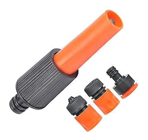 Garten-Schlauch-Düse Schlauchverbinder -Set von 4 für Autowaschanlagen / Pflanzenbewässerung / Deck oder Gehweg Reinigung (1 Soaker)