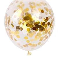 20Pcs 12inch Clear Confetti Balloon Latex Confetti Ballon Wedding Decoration Happy Birthday Balloons Party Supplies