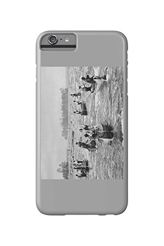 indians-fishing-in-the-soo-canal-photograph-iphone-6-plus-cell-phone-case-slim-barely-there