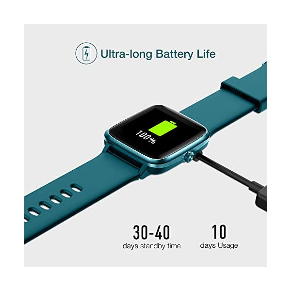 UMIDIGI Reloj Inteligente con Oxímetro (SpO2) Smartwatch con Monitoreo de Frecuencia Cardíaca para Hombre Reloj… 6