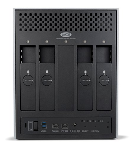 LaCie 4big Quadra USB 3.0 - 16 TB, USB 3.0, 2 x Thunderbolt 800 - LAC9000330EK