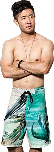 Musterbrand-Street-Fighter-Bade-shorts-Herren-Ryu-Gaming-Bekleidung-Grn