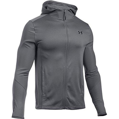 under-armour-sweat-a-capuche-ua-coldgearr-infrared-grid-fitted-pour-homme-gris-vetements-homme