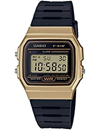 1304b72a2148 Reloj Casio Digital F-91WM-9ADF Dorado