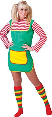 (Karneval-Klamotten Freches Damen Kostüm Freche Göre Damen-Kostüm Größe 40/42)