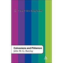 Colossians and Philemon (T & T Clark Study Guides)