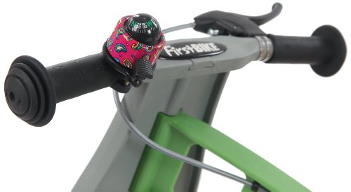 FirstBIKE Compass Bell, Pink by FirstBIKE