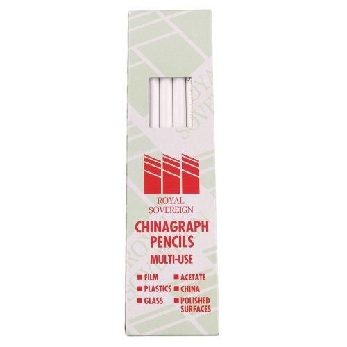ROYAL SOV CHINAGRAPH PENCIL WHITE 52305