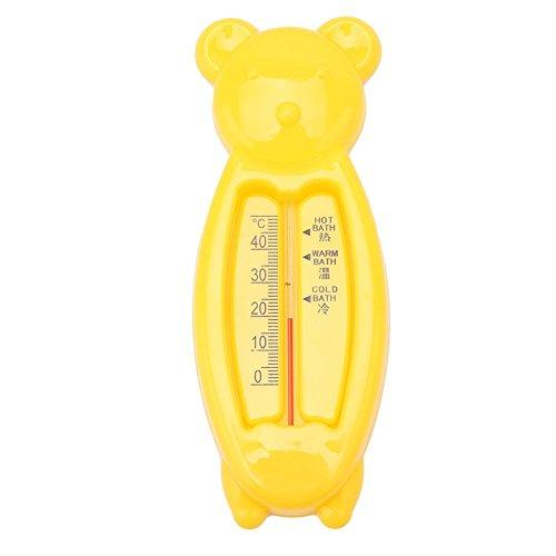 yingwei gelb Bär Meter, das Baby Bad Schwimmende Ente Spielzeug und Badewanne Thermometer