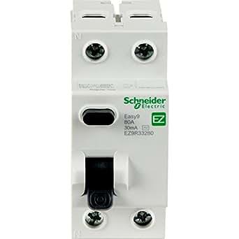 Schneider Easy9 DP disjoncteur différentiel 63A 30mA type AC