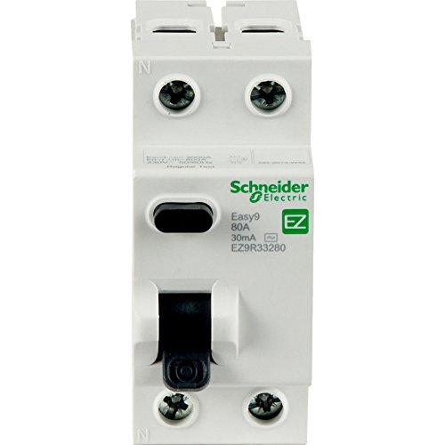 Schneider easy9DP FI-Schutzschalter 63A 30mA Typ AC