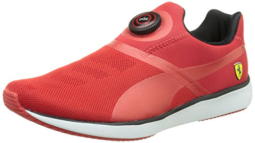 puma-disc-sf-unisex-adults-low-top-sneakers-red-rosso-corsa-black-8-uk-42-eu