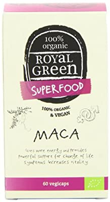 Royal Green Maca - Pack of 60 Capsules from Frenchtop