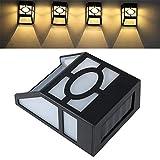 Oberfläche Led Wandhalterung Licht Niedriger Stromverbrauch Lichtschranke Licht Im Freien Wasserdichte Wasserdichte Lampe Warmweiß 89 * 52 * 114Mm