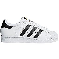 adidas Originals Women's Superstar Low-Top White Size: 6 UK
