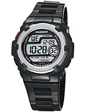 Kinder watch electronic wasserdicht multi-functional candy color sport-A