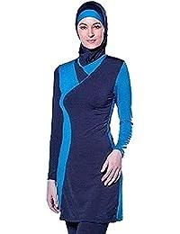YEESAM® Plus tamaño bañadores de musulmán para Mujer musulmán islámica hindú ...
