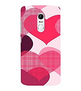 EPICCASE Hearty love Mobile Back Case Cover For Lenovo Vibe X3 (Designer Case)