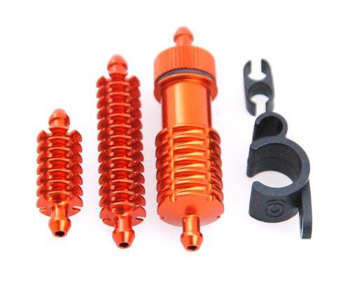 RC Car Radiatore + filtro del carburante set per tutti i Nitro Cars in alluminio 3Teile